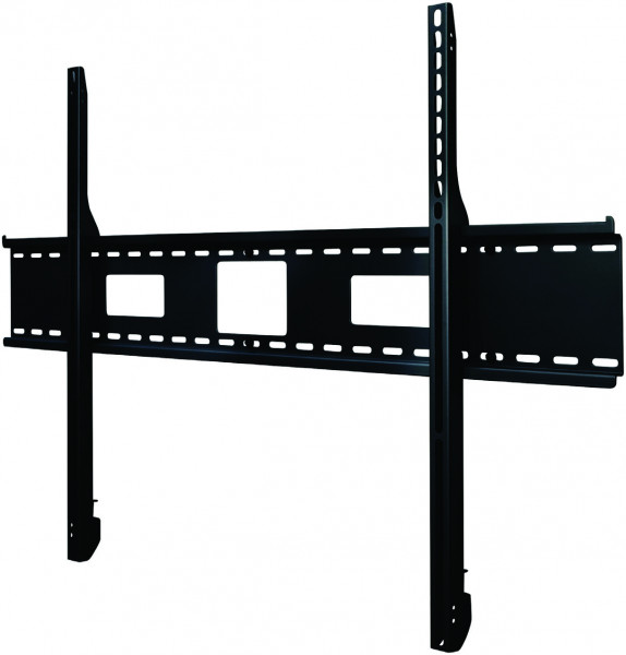 "Peerless PerfectMount Flat-To-Wall Mount for 60""-95"" sleft side view"